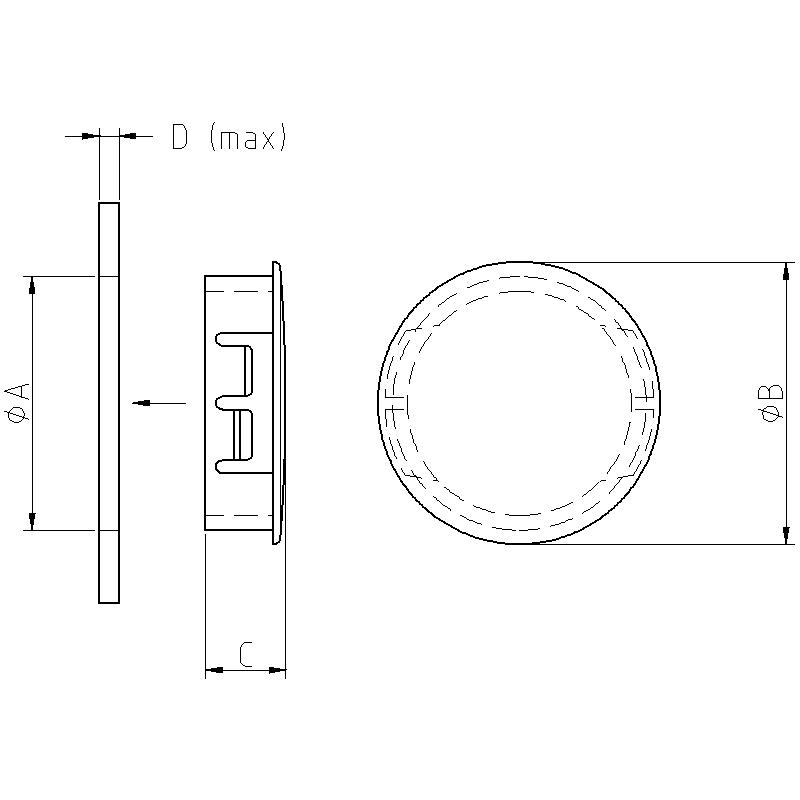 Panelplugg typ 168